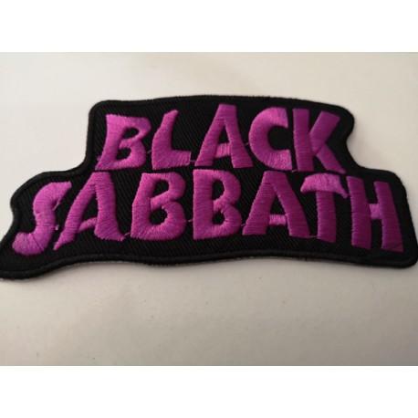"""PARCHE BLACK SABBATH """"Logo letras""""."""