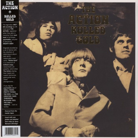 """ACTION """"Rolled Gold"""" LP."""