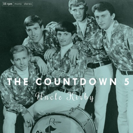 "COUNTDOWN 5 ""Uncle Kirby"" LP."