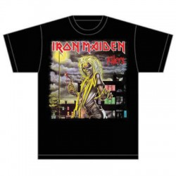 "CAMISETA IRON MAIDEN ""Killers"" Oficial."