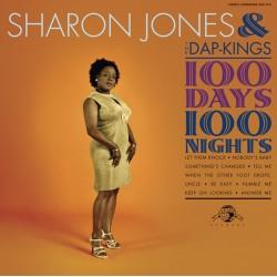 "SHARON JONES & THE DAP-KINGS ""100 Days 100 Nights"" LP."