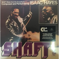 "B.S.O. ""Shaft"" 2LP Isaac Hayes."