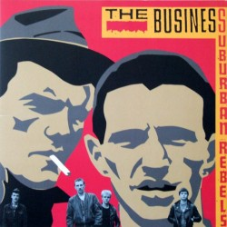 "BUSINESS ""Suburban Rebels"" LP."