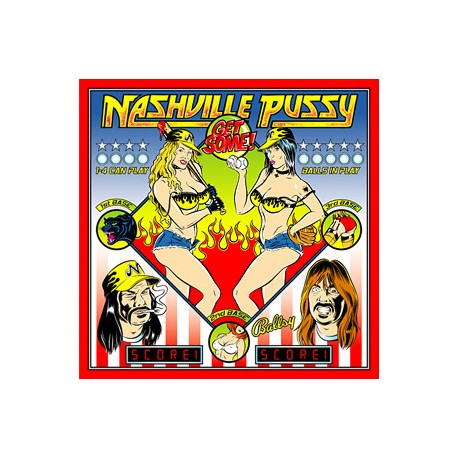 "NASHVILLE PUSSY ""Get Some!"" LP 180GR + CD."
