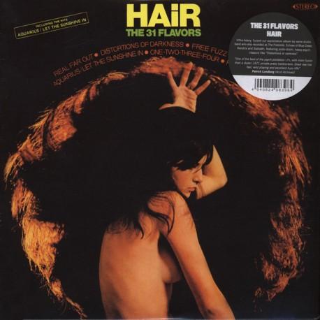 """31 FLAVORS """"Hair"""" LP."""