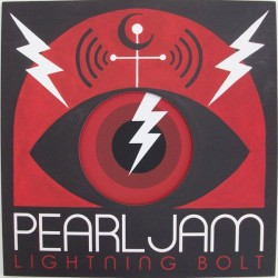 "PEARL JAM ""Lightning Bolt"" LP Gatefold."