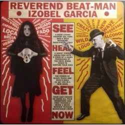 "REVEREND BEAT-MAN & NICOLE IZOBEL GARCIA ""Baile Bruja Muerto"" LP+CD."