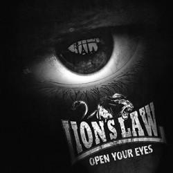 "LION'S LAW ""Open Your Eyes"" LP."