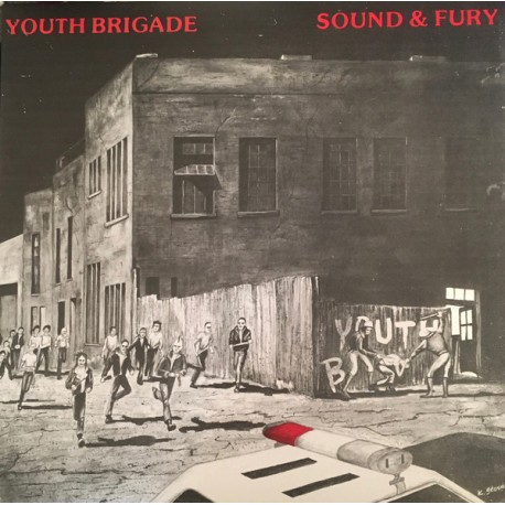 "YOUTH BRIGADE ""Sound & Fury"" LP."