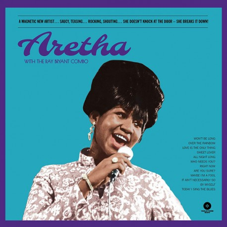 "ARETHA FRANKLIN & THE RAY BRYANT COMBO ""S/t"" LP 180GR."