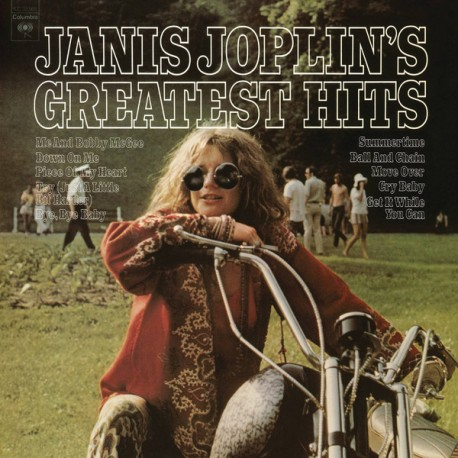 """JANIS JOPLIN """"Greatest Hits"""" LP"""