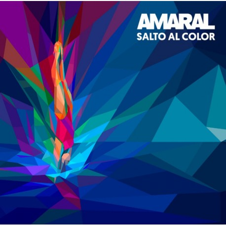 "AMARAL ""Salto Al Color"" LP Color."