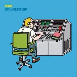 """AIRBAG """"Gotham Te Necesita"""" LP Color."""
