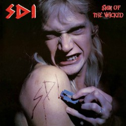 "S.D.I. ""Sign Of The Wicked"" LP Color Blood."