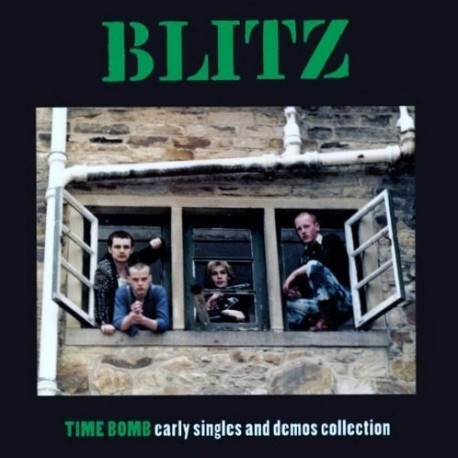 """BLITZ """"Time Bomb: Early Singles And Demos Collection"""" LP."""