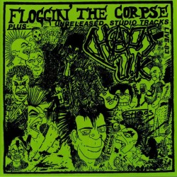 "CHAOS UK ""Floggin The Corpse"" LP."
