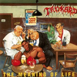 """TANKARD """"The Meaning Of Life"""" LP Color."""