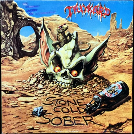 """TANKARD """"Stone Cold Sober"""" LP Color."""
