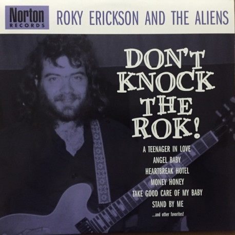 "ROKY ERICKSON & THE ALIENS ""Don't Knock The Rok!"" 2LP."