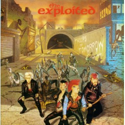 """EXPLOITED """"Troops Of Tomorrow"""" LP."""