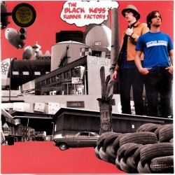"BLACK KEYS ""Rubber Factory"" LP."