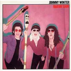 "JOHNNY WINTER ""Raisin' Cain"" LP"