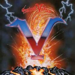 """SAINT VITUS """"V"""" LP Color Electric Blue."""