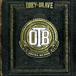 "OBEY THE BRAVE ""Young Blood"" CD."