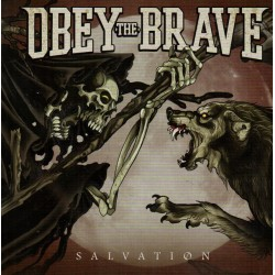"OBEY THE BRAVE ""Salvation"" CD."