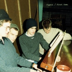 "FUGAZI ""First Demo"" LP."