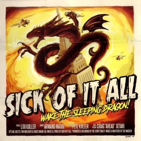 "SICK OF IT ALL ""Wake The Sleeping Dragon!"" LP."