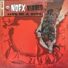 "NOFX ""Ribbed - Live In A Dive"" LP."
