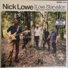 "NICK LOWE & LOS STRAITJACKETS ""Love Starvation"" LP."
