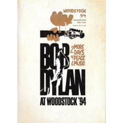 "BOB DYLAN ""At Woodstock 1994"" DVD."