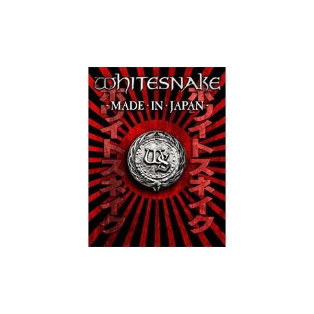 """WHITESNAKE """"Made In Japan"""" DVD."""