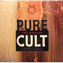 "CULT ""Pure Cult The Singles 1984-95"" 2LP."