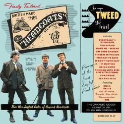 """HEADCOATS """"In Tweed We Trust"""" LP Color Blue."""