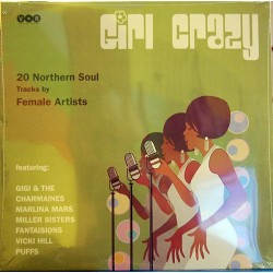 "VV.AA. ""Girl Crazy - 20 Northern Soul By Female Artists"" LP."