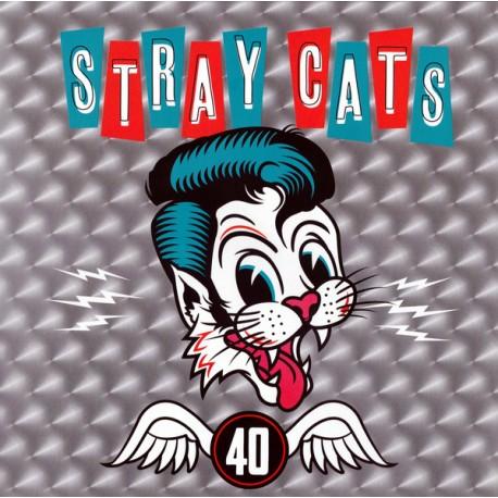 """STRAY CATS """"40"""" LP."""