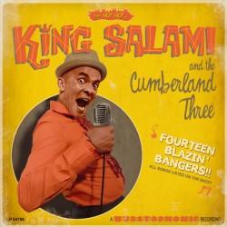 "KING SALAMI & THE CUMBERLAND THREE ""Fourteen Blazin' Bangers!!"" LP."