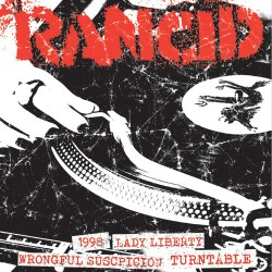 "RANCID ""Life Won't Wait - Part 5"" SG 7""."
