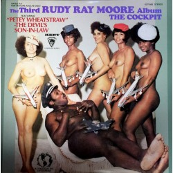 "RUDY RAY MOORE ""The Cockpit"" LP."