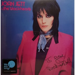 "JOAN JETT & THE BLACKHEARTS ""I Love Rock'n'Roll"" LP."