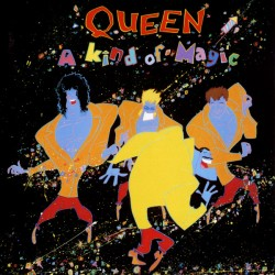 "QUEEN ""A Kind Of Magic"" CD."