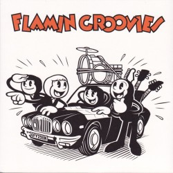 "FLAMIN GROOVIES ""Crazy Macy"" SG 7"" Color."