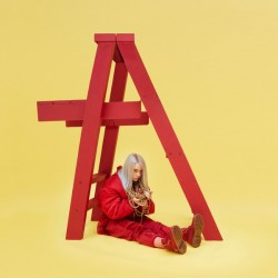 "BILLIE EILISH ""Don't Smile At Me"" LP Color Red."