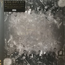 "COLDPLAY ""Everyday Life"" 2LP 180GR."