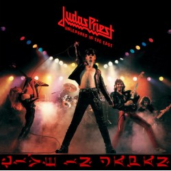"JUDAS PRIEST ""Unleashed In The East - Live In Japan"" CD."