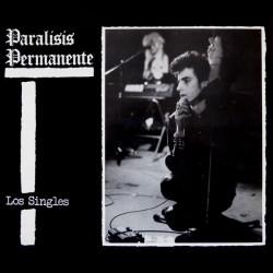"""PARALISIS PERMANENTE """"Los Singles"""" LP Color + CD."""