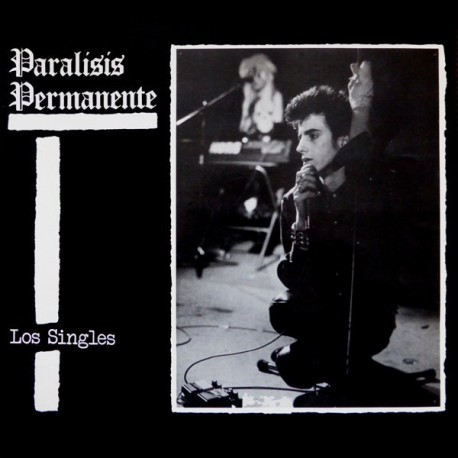 "PARALISIS PERMANENTE ""Los Singles"" LP Color + CD."